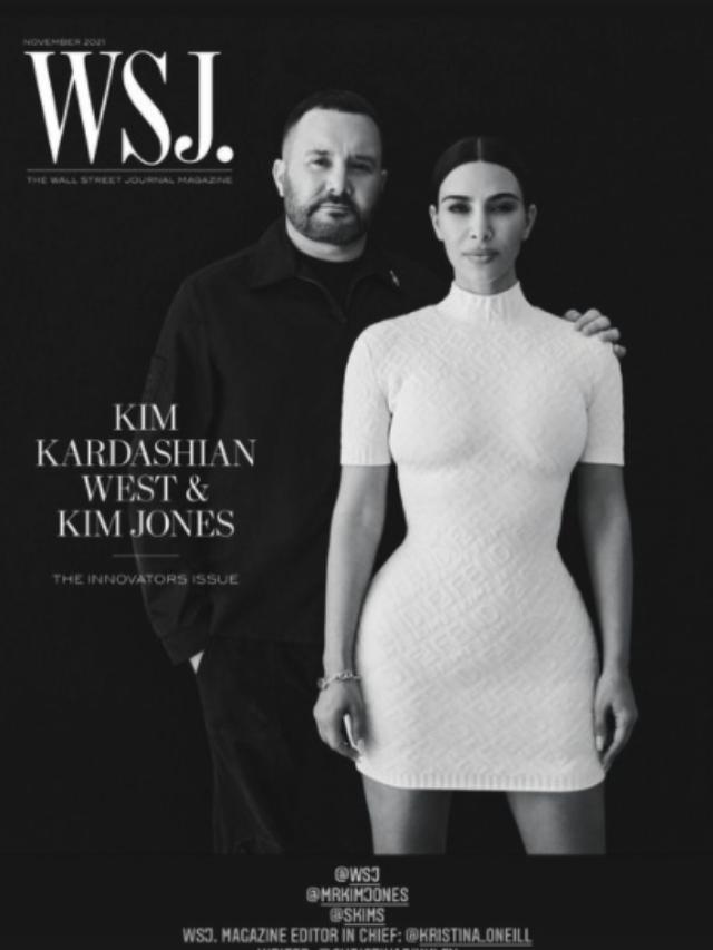 Kim Kardashian Recognized As WSJ Mogul for New Cover