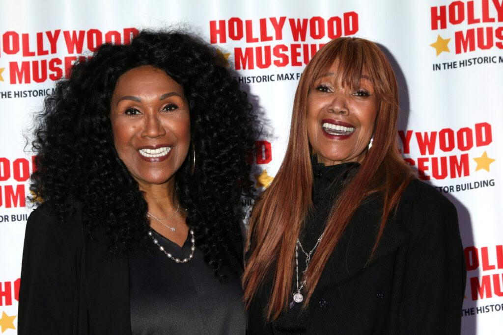 LOS ANGELES - May 28: Ruth Pointer and Anita Pointer at the Hollywood Museum Re-Opens with Ruta Lee's Consider Your A** Kissed Event at the Hollywood Museum on May 28, 2021 in Los Angeles, CA Newscom/(Mega Agency TagID: khphotos793499.jpg) [Photo via Mega Agency]