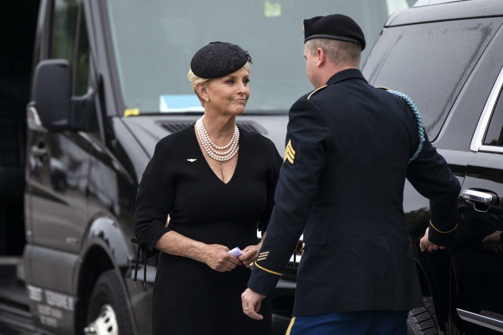 McCain Family at Vietnam Veterans Memorial