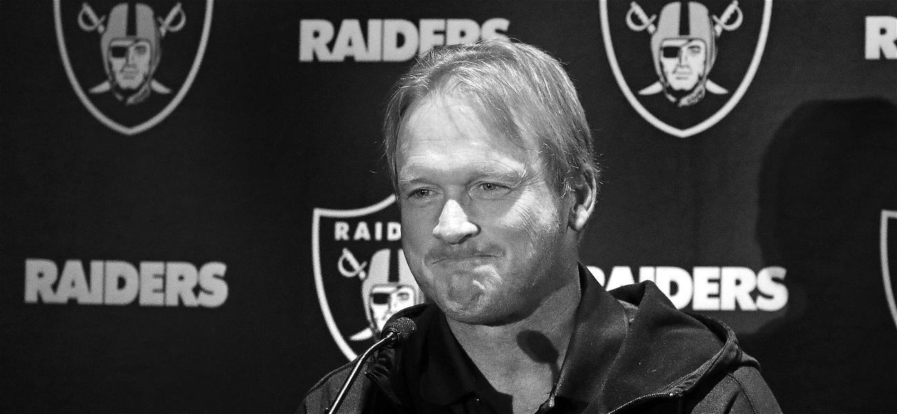 Jon Gruden Bows Out As Raiders Head Coach Amid Homophobic Slurs Revealed In Leaked Emails