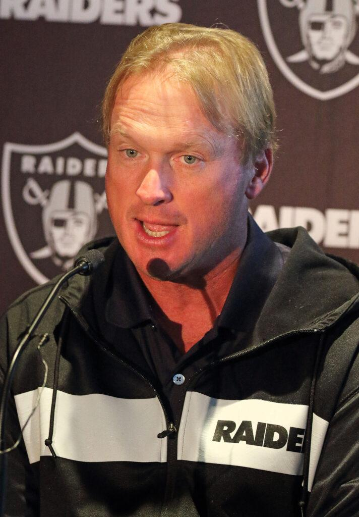 Jon Gruden Bows Out As Raiders Head Coach Amid Revealed Homophobic Slurs In leaked Emails