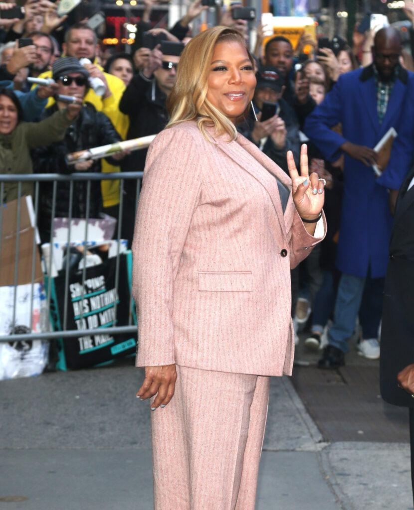 Queen Latifah out and about in New York City