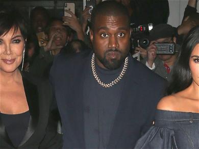 Kim Kardashian And Kanye West 'Are Communicating Better,' Thanks To Kris Jenner