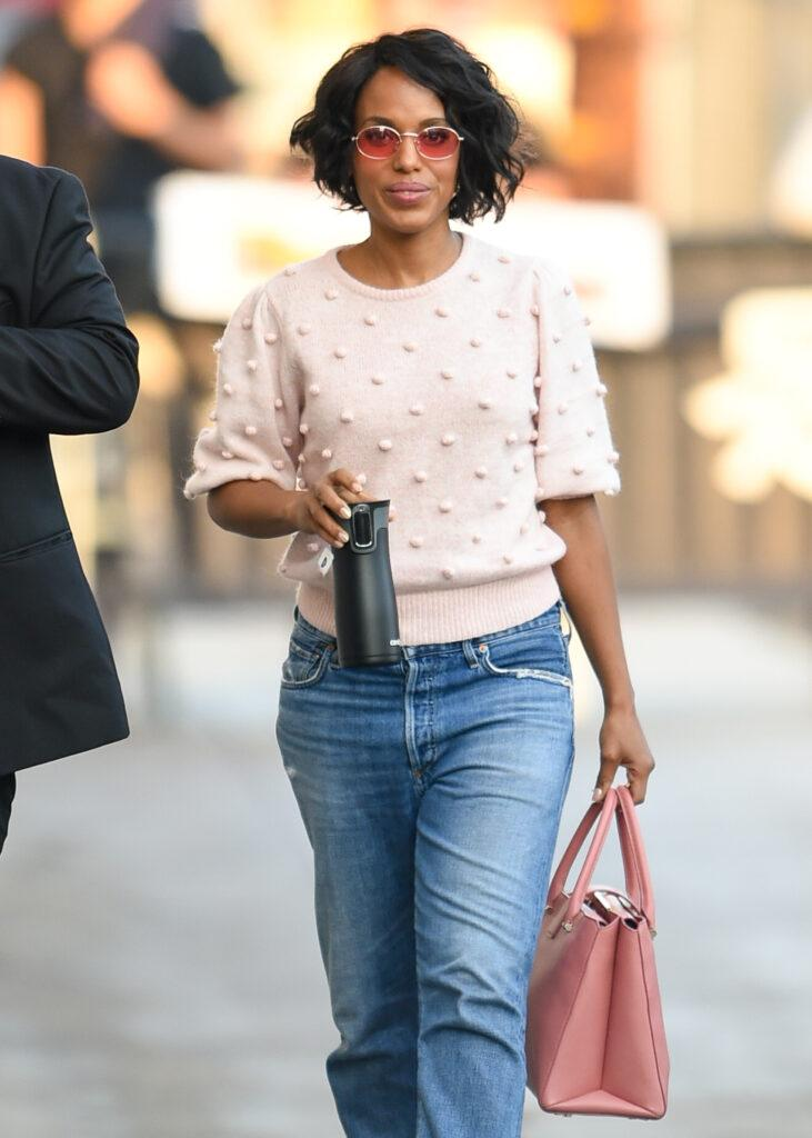Kerry Washington Out and About