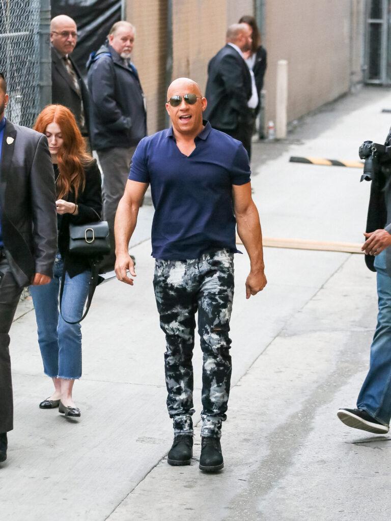 Vin Diesel at apos Jimmy Kimmel Live apos Show