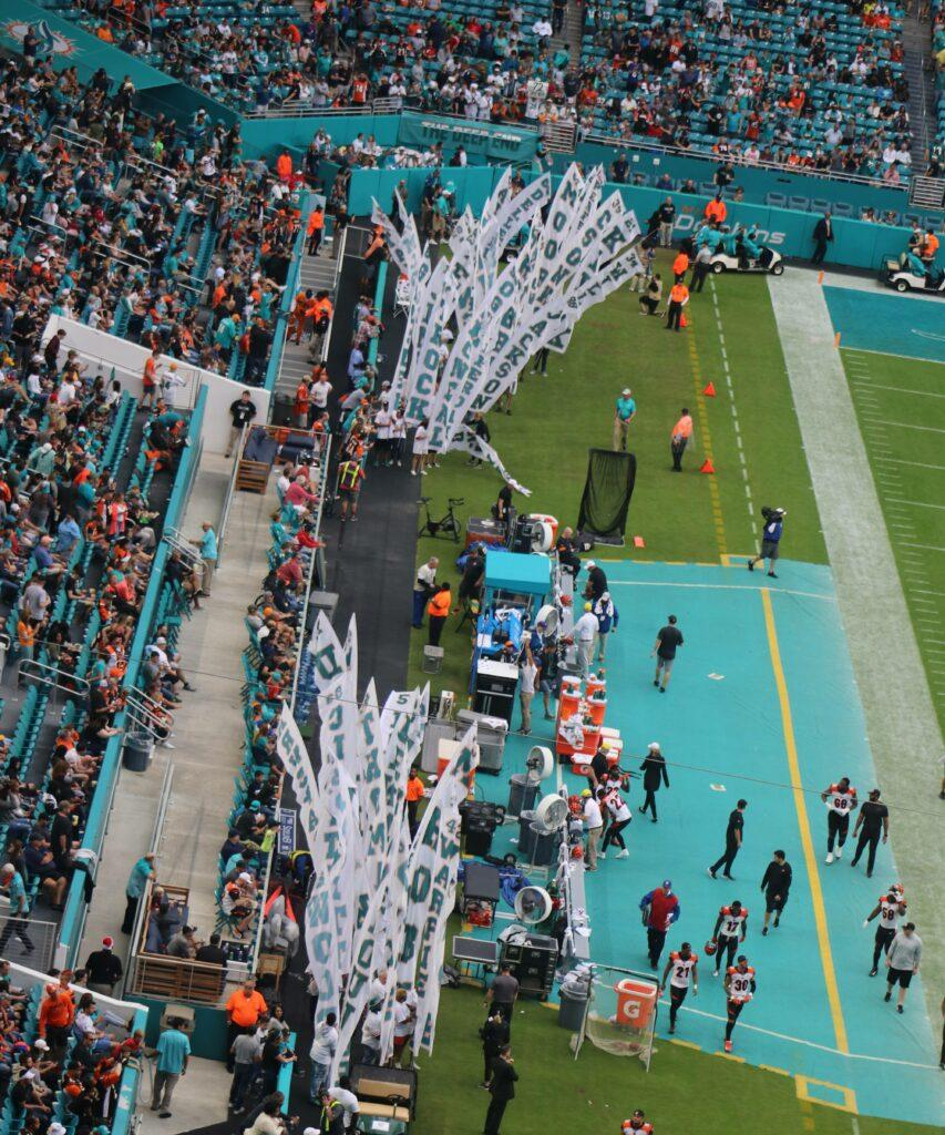 FILE IMAGES The 1972 Miami Dolphins Undefeated Perfect Season record remains intact after Pittsburgh Steelers loss to Washington
