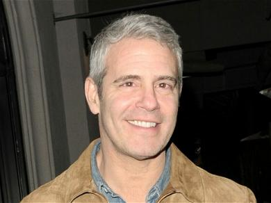 Andy Cohen Shares Cute Photo Of His Son Benjamin On Set Of 'WWHL'
