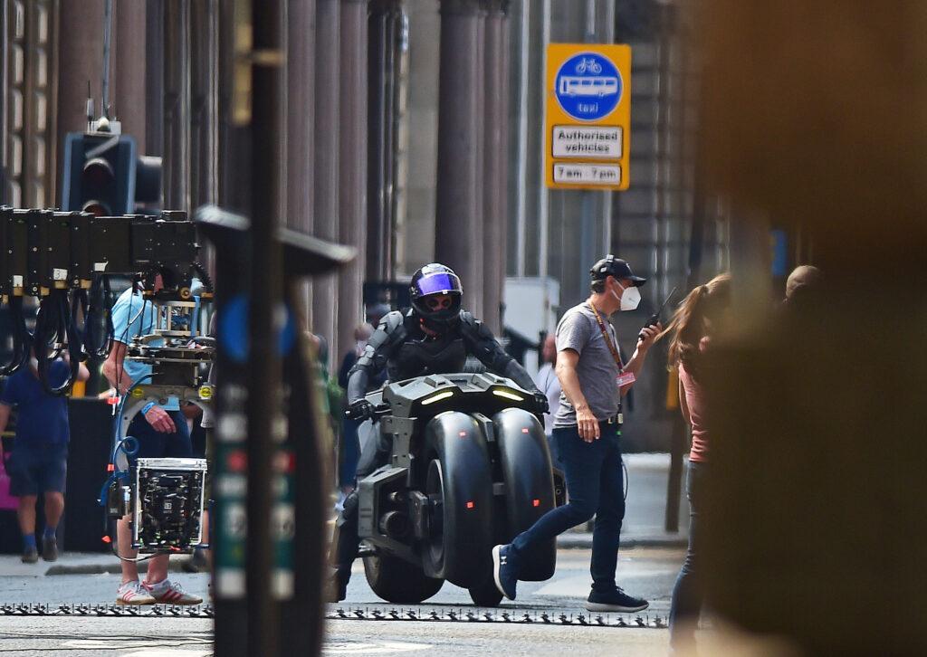 Batman - The Flash - Filming in Glasgow Scotland