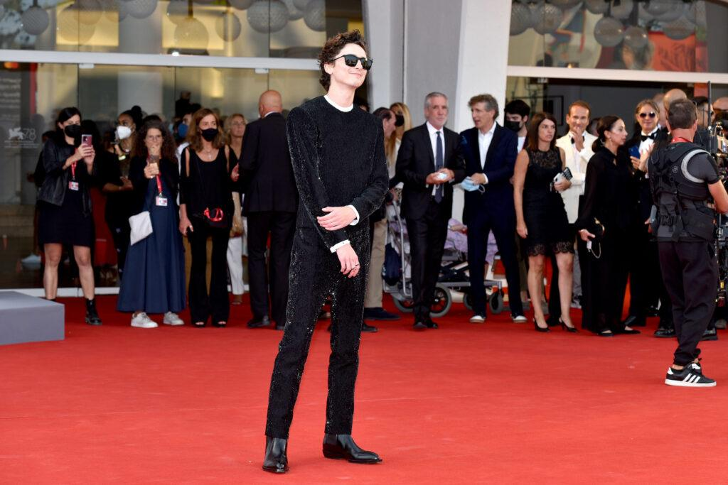 Timothee Chalamet Javier Bardem Zendaya attends the red carpet of the movie quot Dune quot during the 78th Venice International Film Festival