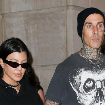 Travis Barker Covers Up Ex-Wife's Name With A Touch Of Kourtney Kardashian