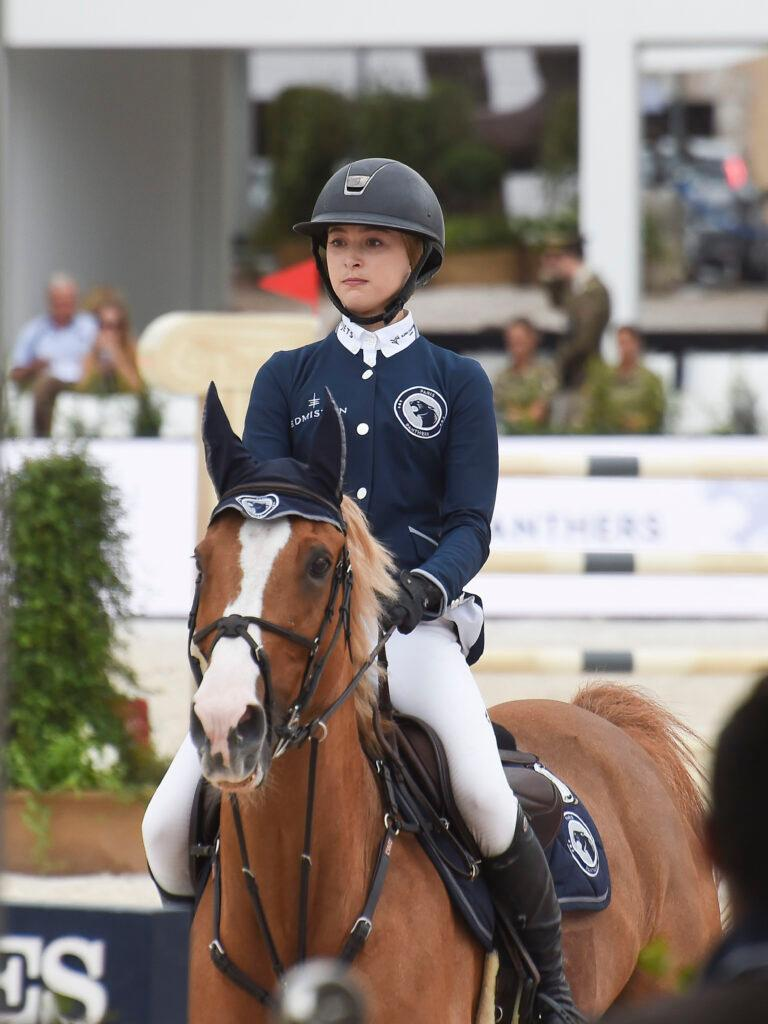 Steve Jobs apos s daughter Eve Jobs competes at an equestrian show in Rome with mom Laurene Powell Jobs