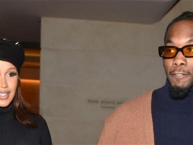 Cardi B Shows Offset Love For Walking In Balenciaga Show at Paris Fashion Week
