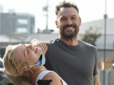 Brian Austin Green Says He's 'Lucky' With Girlfriend Sharna Burgess In Anniversary Tribute