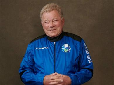 Captain Kirk Returns to Space at 90 Years Old!