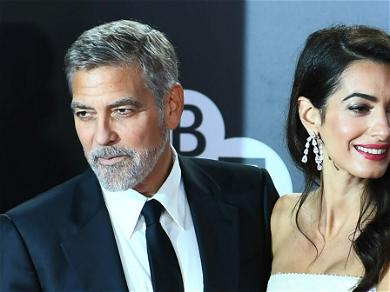 Amal Clooney Looks Breathtakingly Gorgeous With George Clooney In London