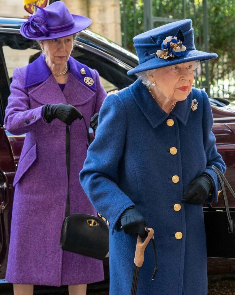 The Queen and Princess Anne attend a Service of Thanksgiving for the Royal British Legion