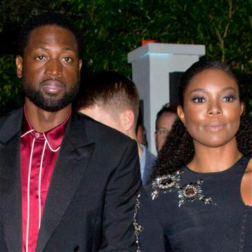 Gabrielle Union Turns The Heat Up In Twinning Shirtless Photo With Husband Dwyane Wade